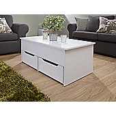 Ultimate Storage Coffee Table White