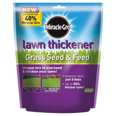 Miracle-Gro Lawn Thickener Grass Seed & feed 500gm