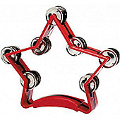 Stagg TAB-3 Star Tambourine - Red