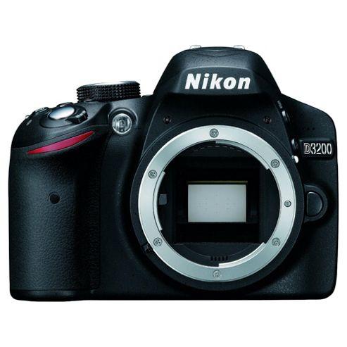 DS Nikon D3200 SLR Camera Black Body Only 24MP 3.0LCD FHD