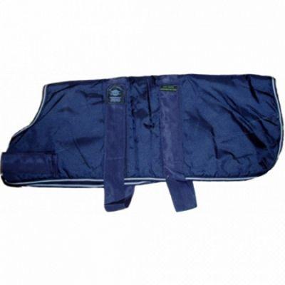 Outhwaite Waterproof Dog Coat Padded Lining - Navy 65cm