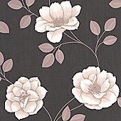 Superfresco Flavia Floral Stone Wallpaper