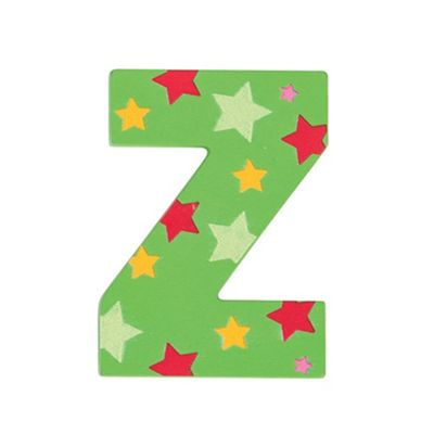 Bigjigs Toys Star Letter Z (Green)