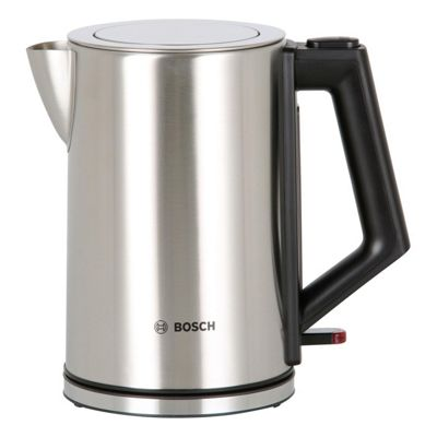 Bosch-TWK7101GB Rapid Boil Kettle with 1.7 Litre Capacity and 2500W Power in Stainless Steel