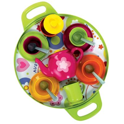 Gowi Toys Afternoon Tea Tray (Pink)