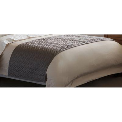 Belledorm Valencia 70x220cm Bed Runner - Charcoal