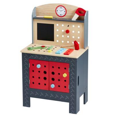 Teamson Kids Little Engineer Foldable Workbench