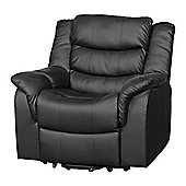 Sofa Collection Victoria Riser Recliner with Massage and Heat Function - Black