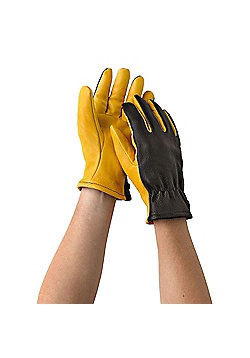Gold Leaf Dry Touch Gardening Gloves Mens