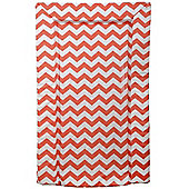 East Coast Chevron Changing Mat (Coral)