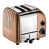 Dualit 27450 Classic 2-Slice Toaster, 1200w Power, Defrost in Copper