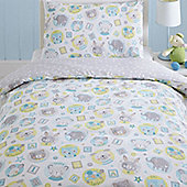 Teddy and Friends Toddler Bedding