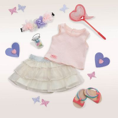 Our Generation Deluxe Dolls Outfit - A Butterfly Moment