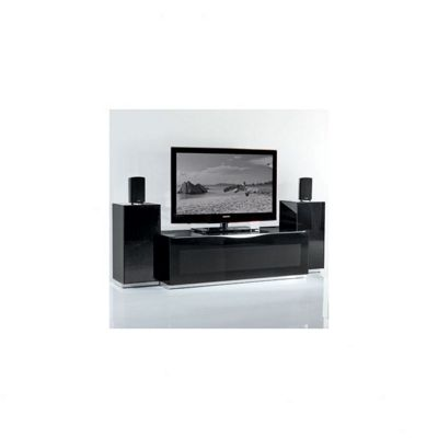 Triskom Exclusive Composition 1 TV Stand - Composition 1A - Black