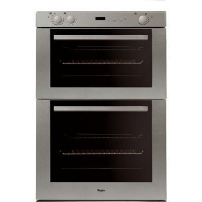 Whirlpool AKW301IX - 700mm Built-Under Double Electric Oven, Stainless Steel