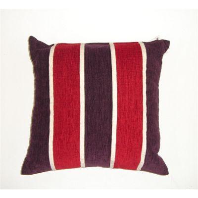 Rapport Oxford Chenille Cushion Cover - Aubergine