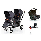 ABC Design Zoom Tandem Isofix Travel System - Street (2016)