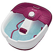 Revlon Pedi Prep Home Foot Spa and Massager with Nail Care Set