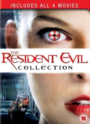 Resident Evil Collection 1-4 (DVD Boxset)