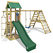 Wickey Smart Park Climbing Frame With Green Slide