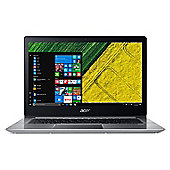 """Acer Swift 3 Full HD 14"""" Laptop, Intel Core i3-7130U, 8GB RAM, 128GB SSD, Windows 10 Home, Silver"""