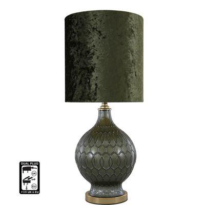 58.5cm Dark Emerald Green Pl