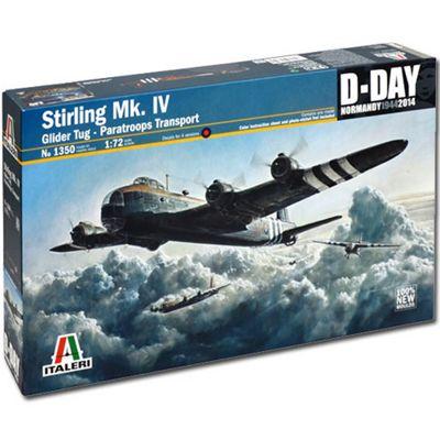 Italeri Short Stirling Mk.Iv Glider Tug 1350 1:72 Aircraft Model Kit