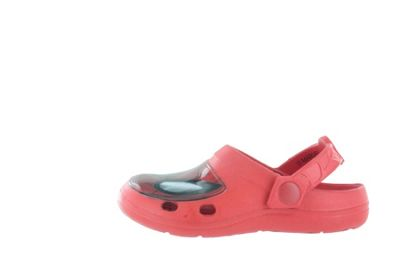 Boys Spiderman Red Slip On Beach Sandals Clogs Mules UK Infant Size 6