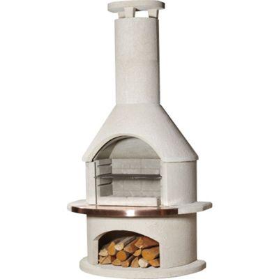 Buschbeck Rondo Masonry Barbecue Outdoor Fireplace