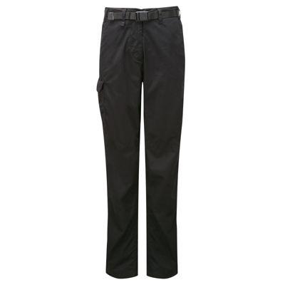 Craghoppers Ladies Classic Kiwi Trousers Black 14 Short Leg