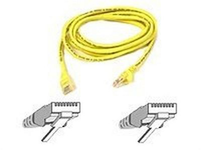 Belkin Patch cable - RJ-45(M) 2m ( CAT 5e ) 10/100Base-T yellow