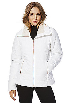 Only Puffer Jacket - White