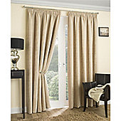 Enhanced Living Balmoral Pencil Pleat Curtains - Natural