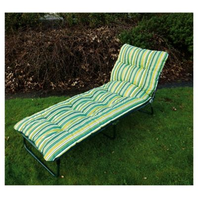 Culcita Padded Sunbed - Green