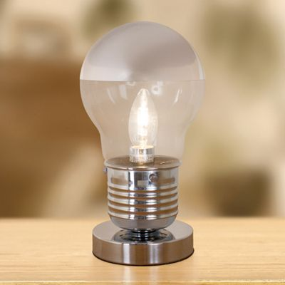 Anika Touch Activated Retro Bulb Lamp