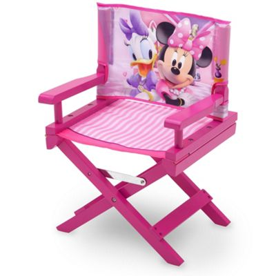Disney Minnie Mouse Directors Childs Toddler Chair