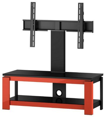 Sonorous HG 1020 Cantilever TV Stand Red