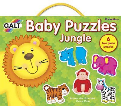 Puzzle - Baby Puzzles - JUNGLE - Galt