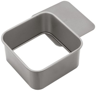 Judge Bakeware Heavy Duty Loose Base Non Stick Square Cake Tin 15cm