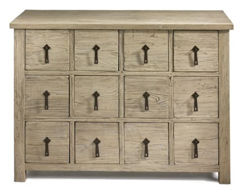 Shimu Chinese Country Furniture 12 Drawer Chest