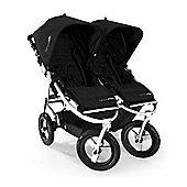 Bumbleride Indie Twin Stroller Jet Black - FREE Raincover