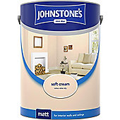Johnstone's Soft Cream Emulsion Paint 75ml Tester Pot (303995)