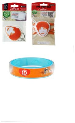 One Direction Louis Bundle, 1 Bangle, 1 Keyring And 1 Shoelace 3 Item Bundle