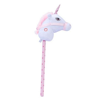 Pitter Patter Pets Giddy Up Hobby Horse - White Unicorn