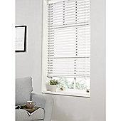Hamilton McBride Faux Wood Venetian Blind 150 x 160cm White