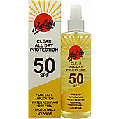 Malibu Once Daily Clear Protection Spray SPF50 250ml