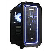 Cube Cobra TUF Upgradable RGB Gaming PC i5 Six Core 16GB RAM 2TB SSHD WIFI Add your GPU Windows 10