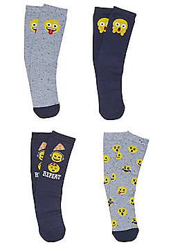 Emoji 4 Pair Pack of Ankle Socks - Multi