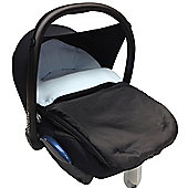 Car Seat Footmuff To Fit graco Light Blue