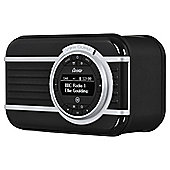 VQ Christie DAB+ Radio with Bluetooth Connectivity - Noir